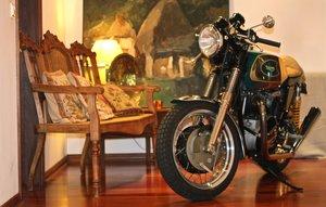 1972 Triumphy Trophy 750cc Cafe Racer