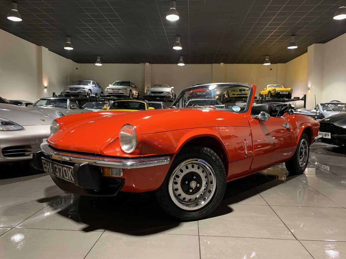 1972 TRIUMPH SPITFIRE 1300 Mark IV RED WITH BLACK TRIM For Sale (picture 1 of 6)