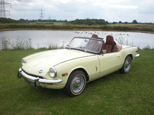1969 triumph spitfire mk3 us import rust free For Sale