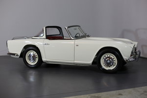 1963 An uncompromising frame off TR4 restoration with Surrey Top For Sale