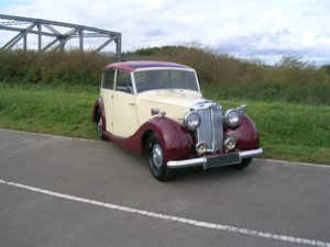 1949 Standard Triumph Razor Edge 1800 Town and Country