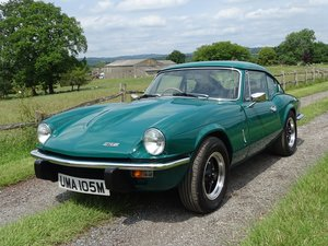1973 Triumph GT6 Mk3, Excellent condition,85000m,good history. SOLD