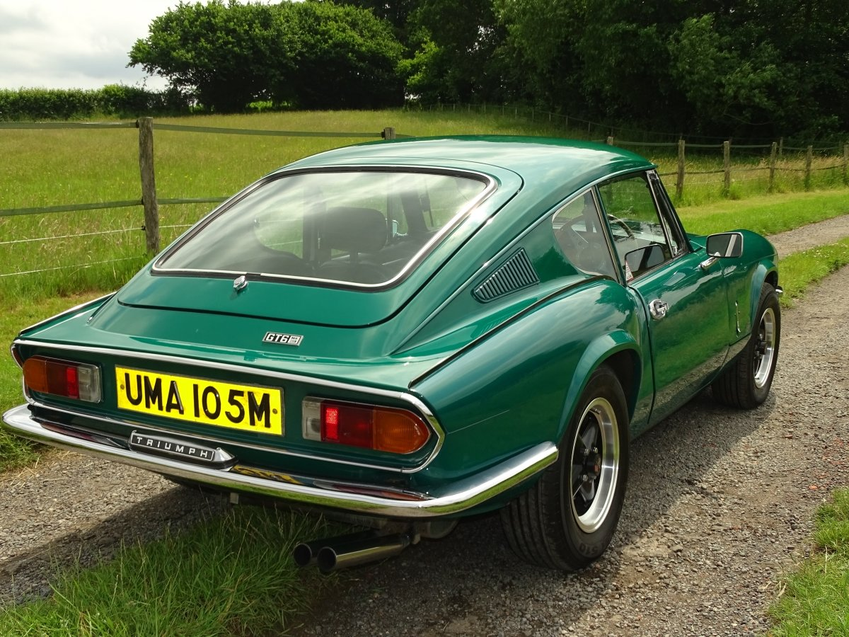 1973 Triumph GT6 Mk3, Excellent condition,85000m,good history. SOLD (picture 3 of 6)