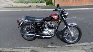 1980 Triumph bonniville t140 immaculate For Sale