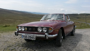 Triumph Stag with V8 Engine, less than 50k miles
