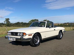 1971 Triumph Stag MK I. 3.0 V8 Manual Overdrive SOLD