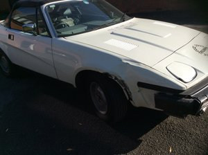1980 TR7 convertible Low mileage original car