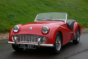 1959 Triumph TR3A For Sale by Auction