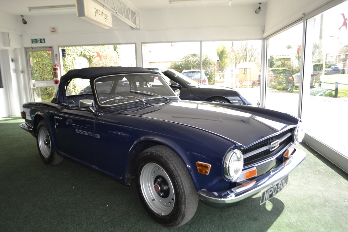 TR6 (1972) - extensive renovation  For Sale (picture 13 of 13)