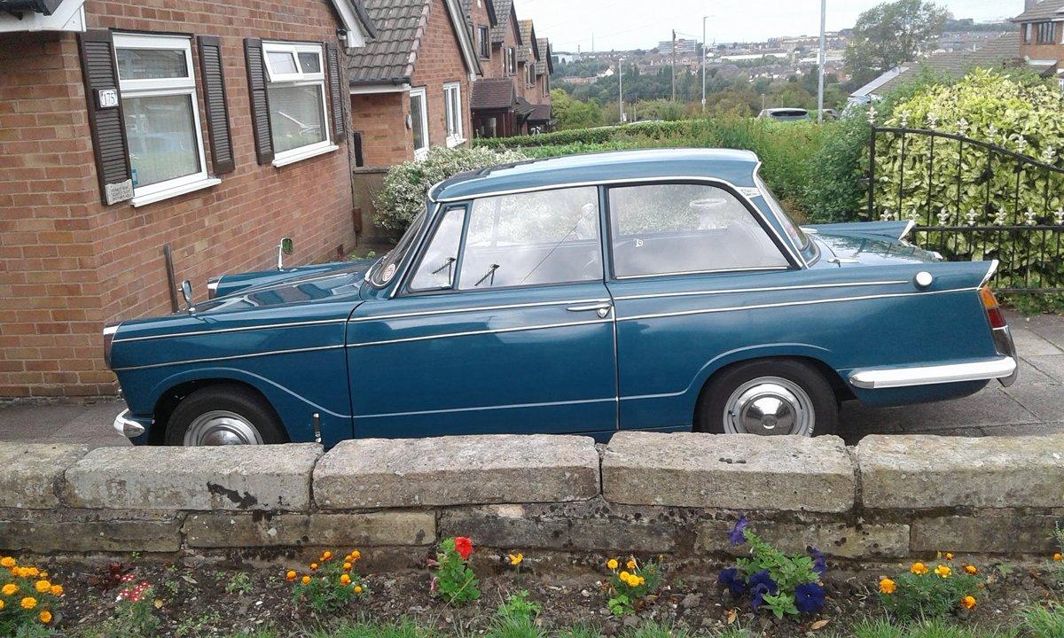 1970 Triumph Herald Valencia blue  SOLD (picture 3 of 6)