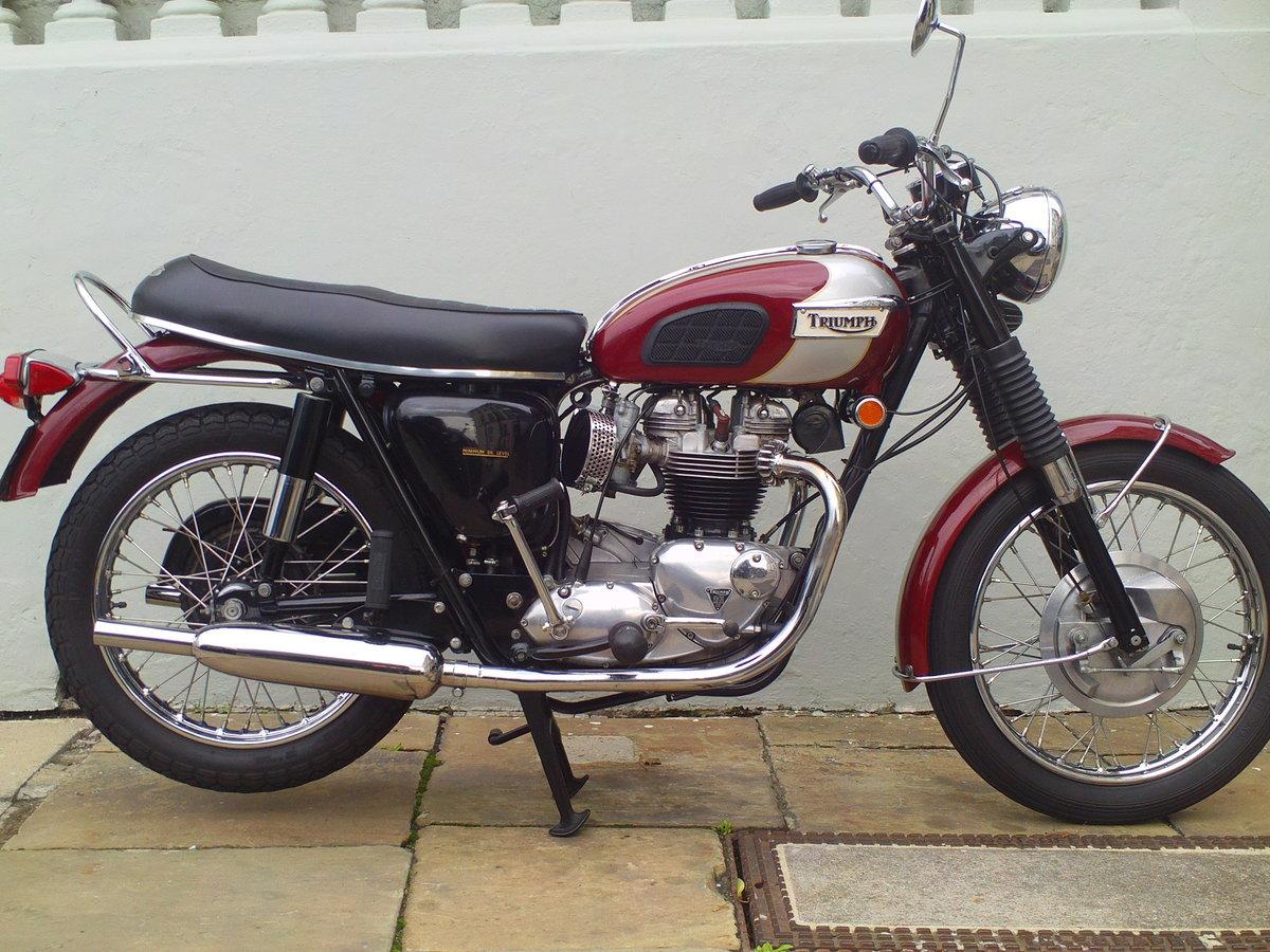 1970 TRIUMPH BONNEVILLE T120 For Sale (picture 1 of 6)