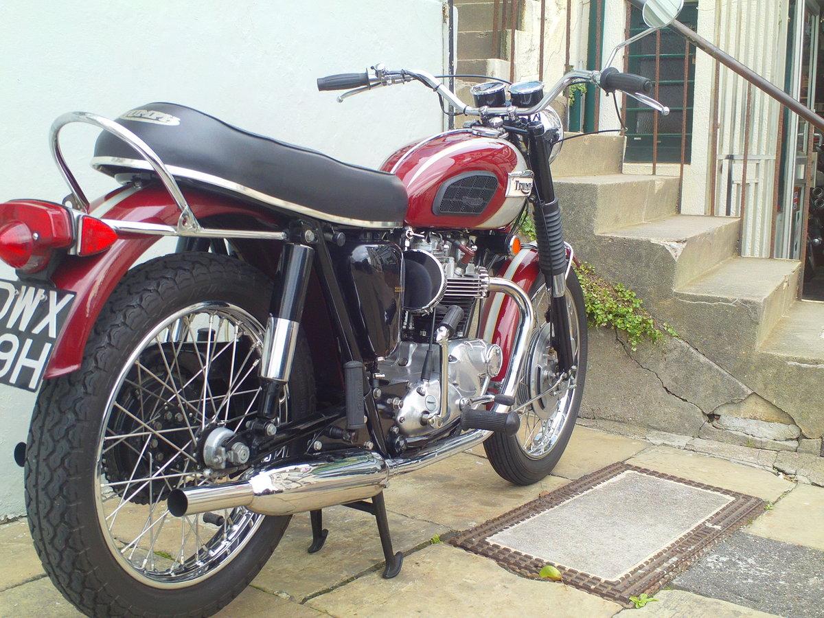 1970 TRIUMPH BONNEVILLE T120 For Sale (picture 2 of 6)