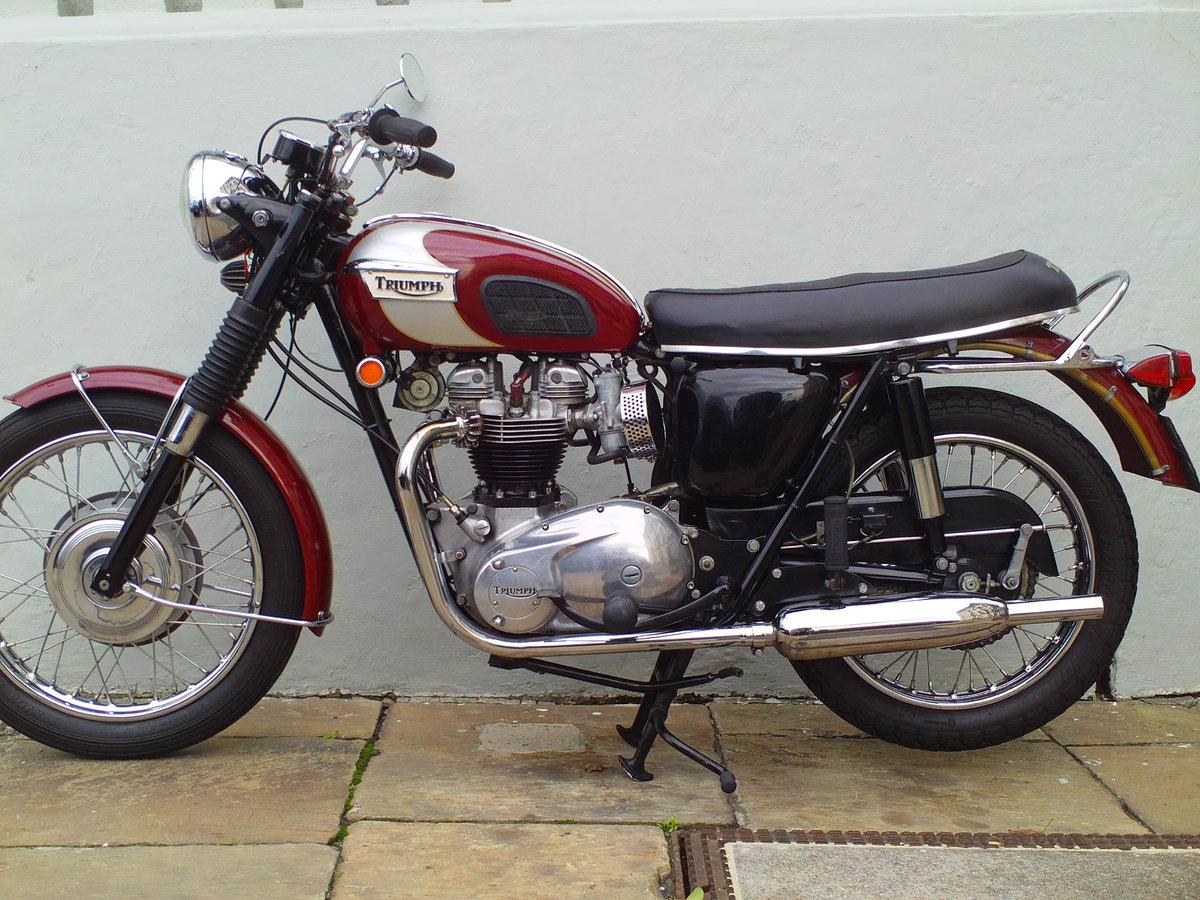 1970 TRIUMPH BONNEVILLE T120 For Sale (picture 3 of 6)