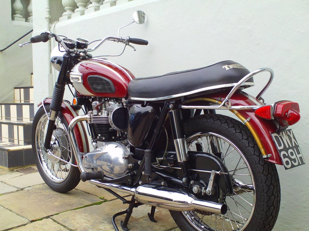 1970 TRIUMPH BONNEVILLE T120 For Sale (picture 4 of 6)