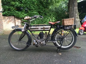 1912 Triumph Completely Original Veteran
