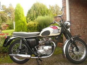 1964 Triumph 3TA  For Sale