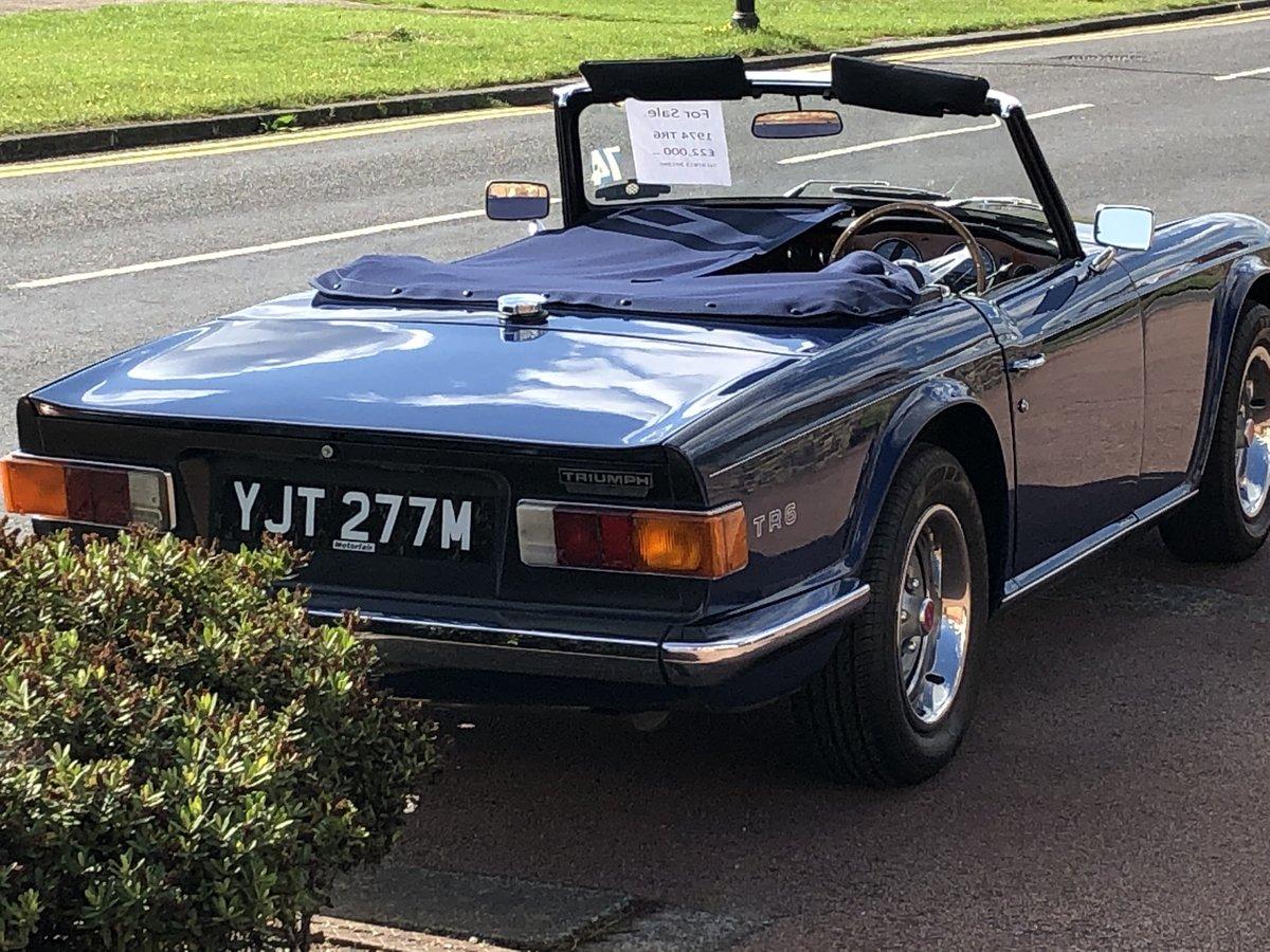 1974 Triumph TR6  For Sale (picture 1 of 6)