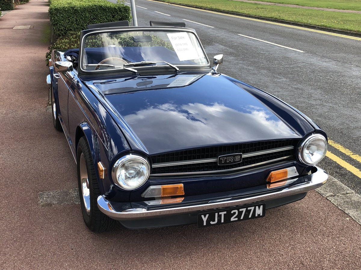 1974 Triumph TR6  SOLD (picture 5 of 6)