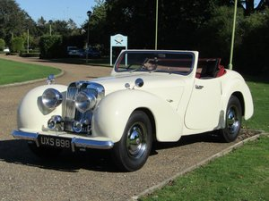 1948 Triumph 1800 Roadster at ACA 2nd November