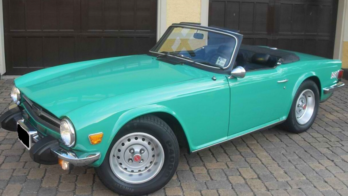 TR6 1975 California 80.000 milles For Sale (picture 1 of 2)