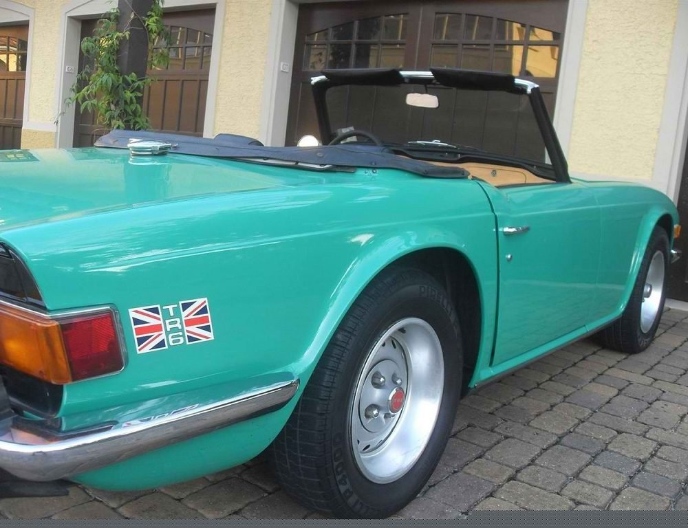 TR6 1975 California 80.000 milles For Sale (picture 2 of 2)