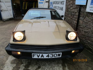 1980 TR7 CONVERTIBLE GOLD ROVER V/8 FITTED WELL FITTED  NO RUST For Sale