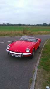 1970 Triumph Spitfire mk3