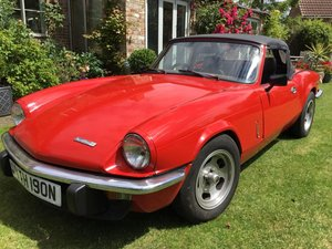 *NOVEMBER AUCTION* 1974 Triumph Spitfire For Sale by Auction