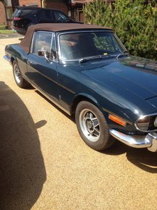 *NOVEMBER AUCTION* 1973 Triumph Stag For Sale by Auction