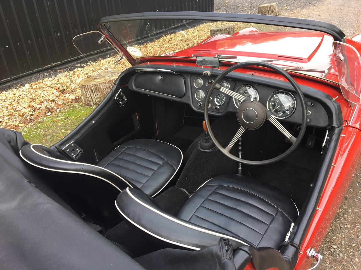 1959 Triumph TR3A for sale in Hampshire ... For Sale (picture 3 of 6)