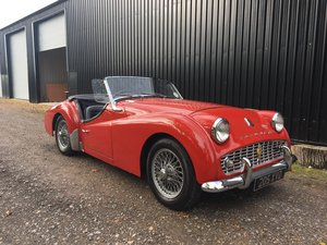 1959 Triumph TR3A for sale in Hampshire ...