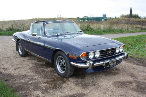 1974 TRIUMPH STAG - AUTOMATIC SOLD (picture 6 of 6)