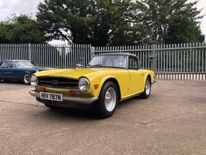 1975 Triumph TR6 - 9978 miles from new