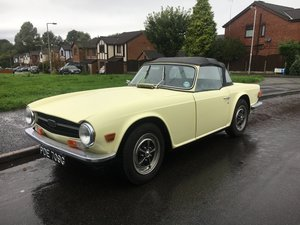 1969 TRIUMPH TR6 PI For Sale