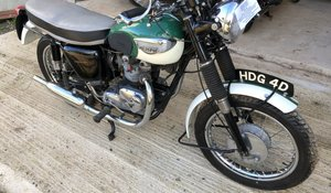 1966 Triumph T100SS For Sale by Auction