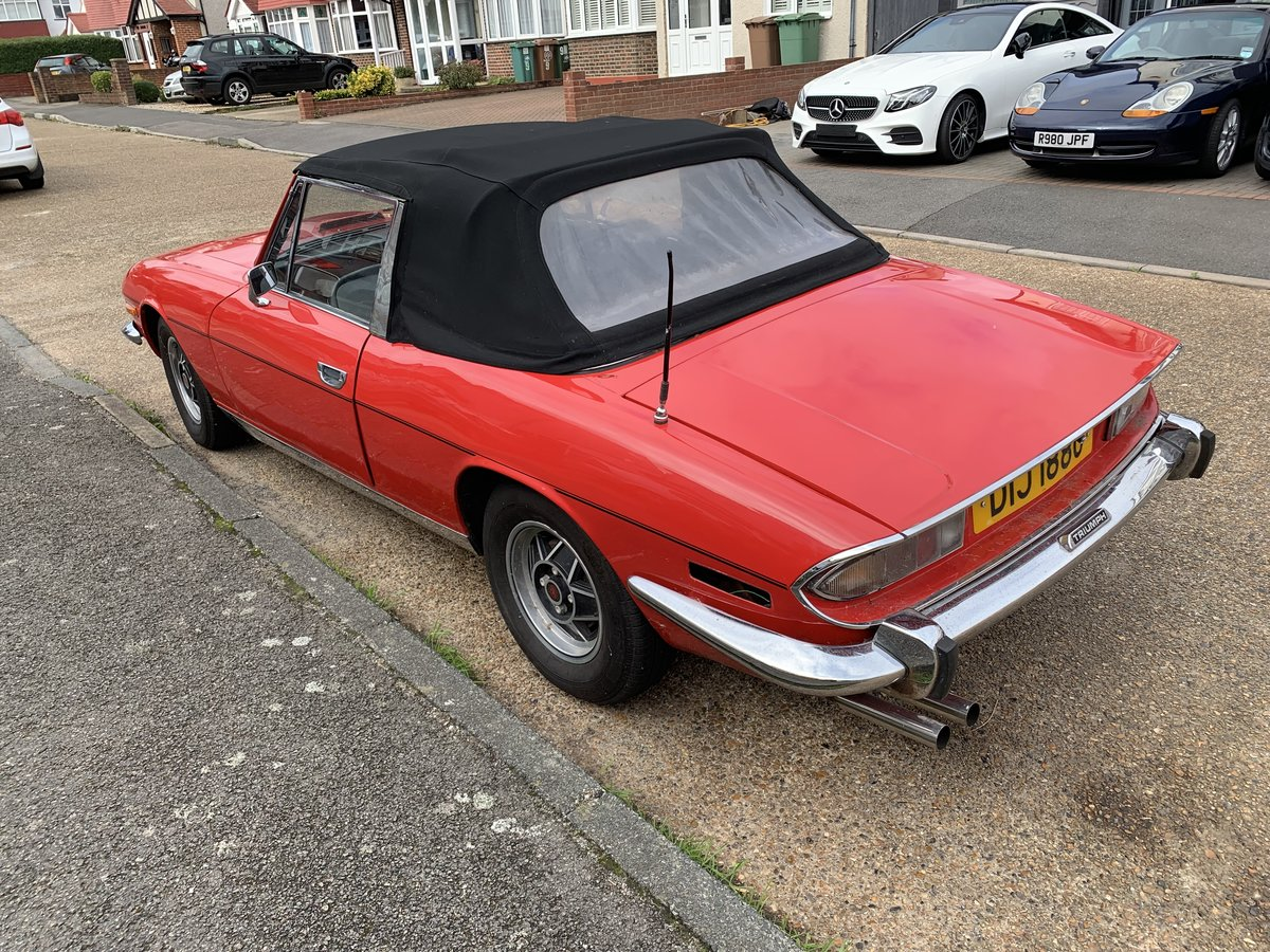 Triumph Stag  1971 manual gearbox GENUINE  MK1   For Sale (picture 2 of 6)