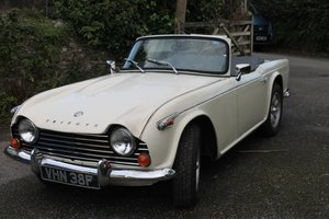 1966 Triumph TR4A For Sale by Auction