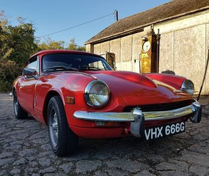 1969 Triumph GT6 MK2 with Overdrive For Sale