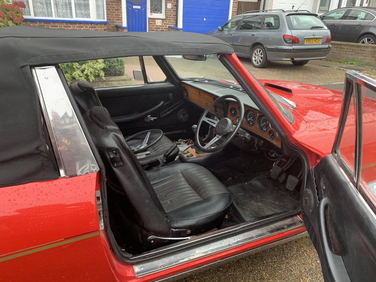 Triumph Stag  1971 manual gearbox GENUINE  MK1   For Sale (picture 5 of 6)