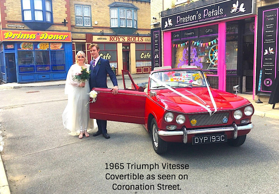 1965 Classic Wedding Cars Cheshire & Manchester For Hire (picture 4 of 6)