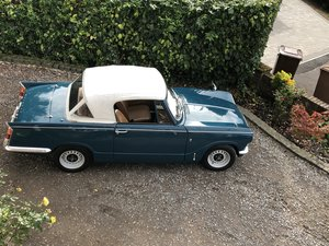 1968 Triumph vitesse convertible lovely car from hcc For Sale