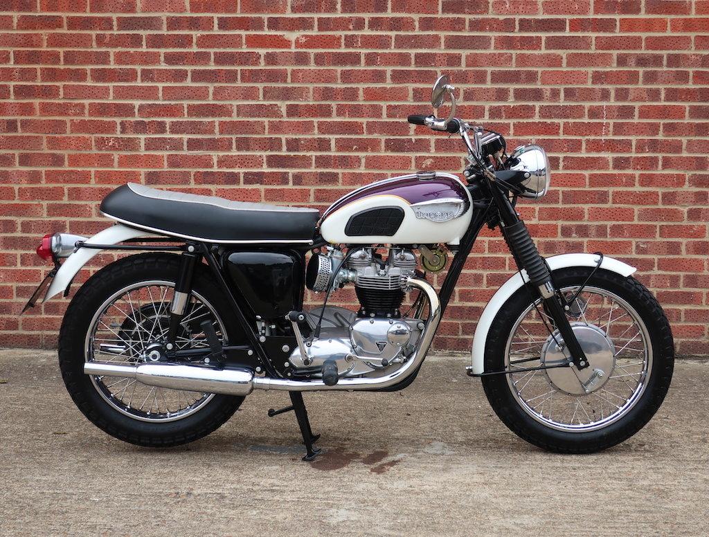 1967 Triumph T120R Bonneville For Sale (picture 1 of 6)