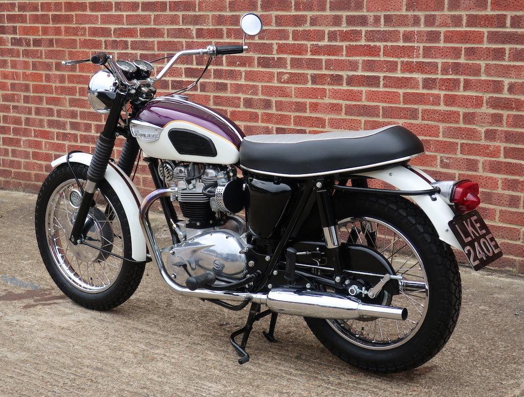 1967 Triumph T120R Bonneville For Sale (picture 5 of 6)