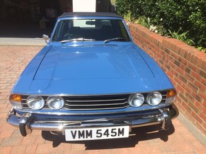 1974 Triumph Stag Fully restored original
