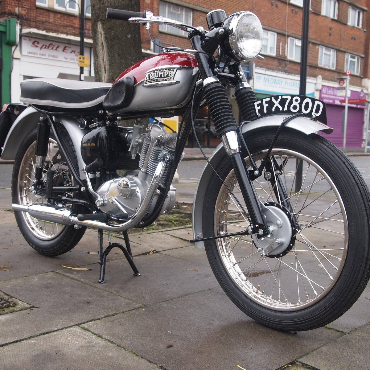 1966 T20SH Tiger Cub / RESERVED FOR CLIVE. SOLD (picture 2 of 6)