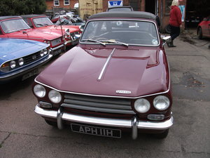 1968 TRIUMPH VITESSE MK2 For Sale