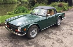 1974 TR6 - Barons Sandown Pk Saturday 26th October 2019