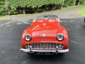 1961 Triumph Tr3  For Sale