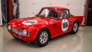 1962 TR4 FIA Race Car For Sale