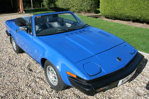 1982 Triumph TR8 DHC Convertible 5 Speed manual.Superb Throughout